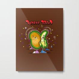 Banana party! (w/colour) Metal Print