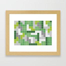 Quad 3 Framed Art Print