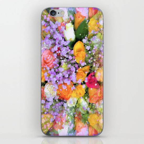 Bokeh Bouquet iPhone & iPod Skin