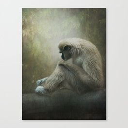 In my own world... Canvas Print