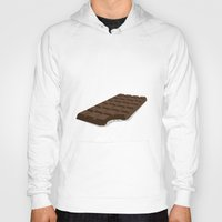 chocolate Hoodies featuring Chocolate by David Pires
