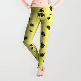 Summer Man Squiggles Leggings