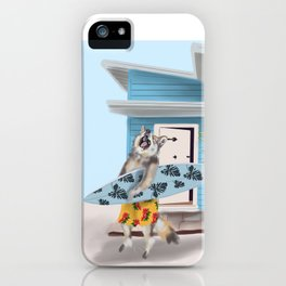 Calvin the Coyote iPhone Case