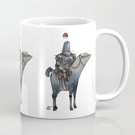 Numero 1 -Cosi che cavalcano Cose - Things that ride Things- Coffee Mug