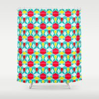 fancy Shower Curtains featuring Fancy by AZRI AHMAD
