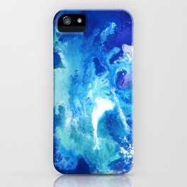 Nihal - Abstract Costellation Painting iPhone Case