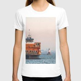 Lighthouse & Staten Island Ferry T-shirt