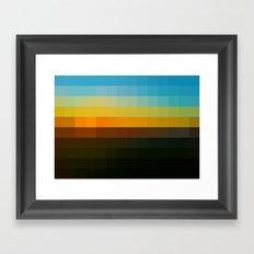 Pixture #1 Framed Art Print