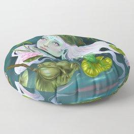 Nymphaea Lotus Floor Pillow