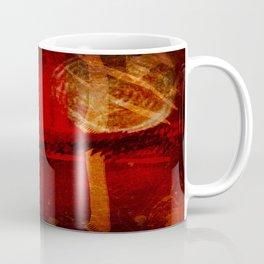 Abstract Red Light Coffee Mug