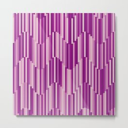 Wave Bars: Victoria Metal Print