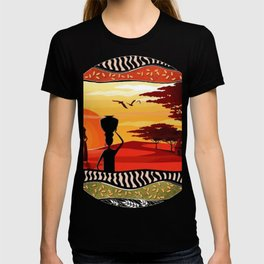 Colors of africa T-shirt