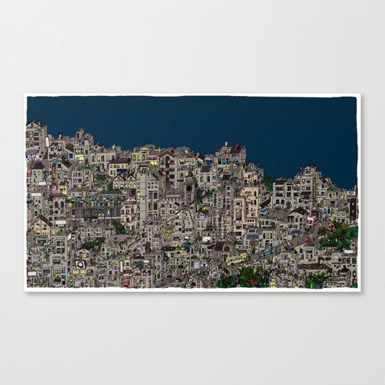 London Favela Canvas Print