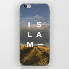 Islam- Poster iPhone Skin