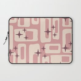 Retro Mid Century Modern Abstract Pattern 576 Dusty Rose Laptop Sleeve