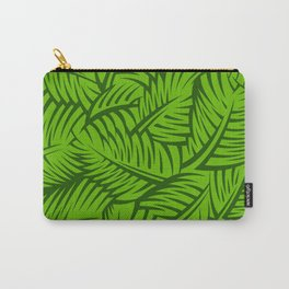 Great Palm Leaves Carry-All Pouch