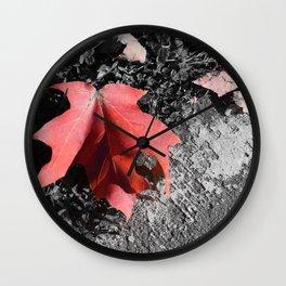 Something Fleeting Wall Clock