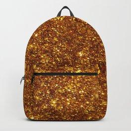 Glitter Gold Image Backpack