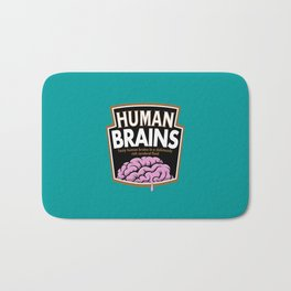 Human Brains Bath Mat