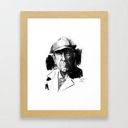 Leonard Cohen (poet, musician) Framed Art Print
