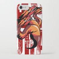 hydra iPhone & iPod Cases featuring Hydra by John Hernandez Art