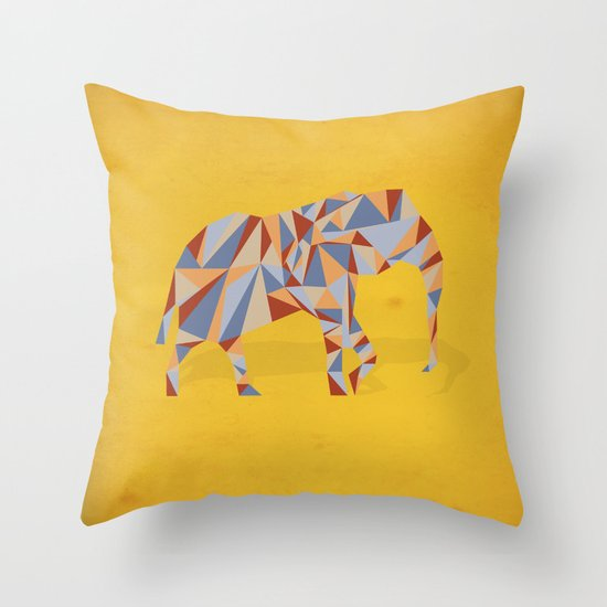 When in India Throw Pillow