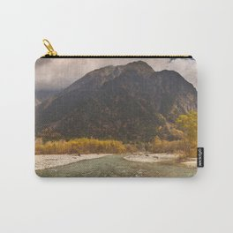 Azusa River and Autumn colours in Kamikochi, Japan Carry-All Pouch