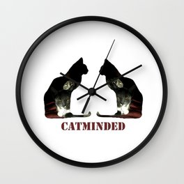 Cat minded Wall Clock