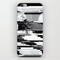 glitch iPhone & iPod Skins featuring Glitch by poindexterity