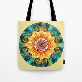Mandalas from the Heart of Surrender 4 Tote Bag