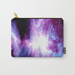 Orion Nebula Purple Periwinkle Blue Galaxy Carry-All Pouch