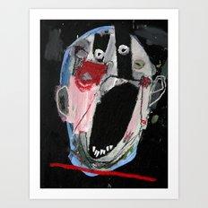 Head 2.  Art Print