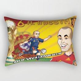 Andres Iniesta 2010 Rectangular Pillow