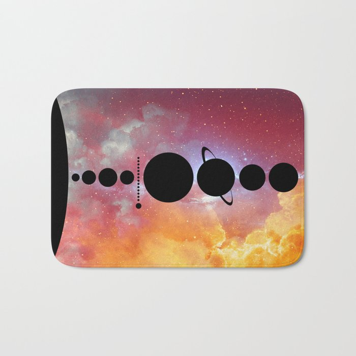 Solar System vol 1 Bath Mat