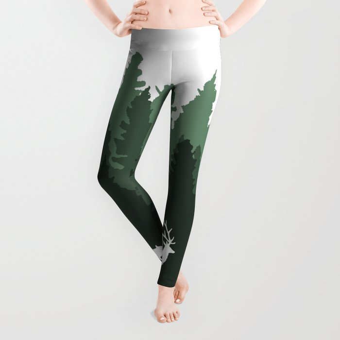 The Walk Through The Forest Leggings