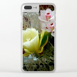 Heavenly May Flowers, Looking Up Clear iPhone Case