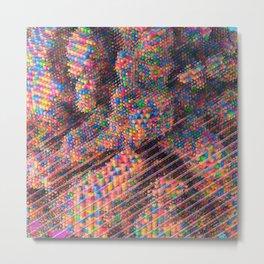 Explosive Popcorn Gum (Bigger) Metal Print