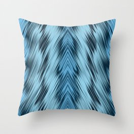 stripes wave pattern 8v1 coi Throw Pillow