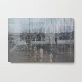 Paris reflex Metal Print