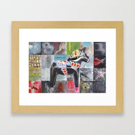Its not me its you ! Framed Art Print