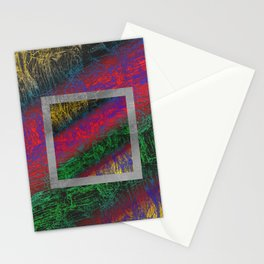 Psychedelic Petrified Wood Stationery Cards