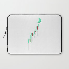 Candle to the MOON Laptop Sleeve