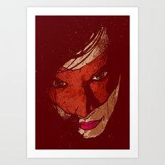 Sister Hazard Art Print