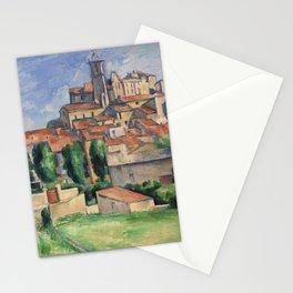 Paul Cézanne, Gardanne. Landscape art. Stationery Cards