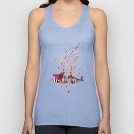 Bloody Lips Unisex Tank Top