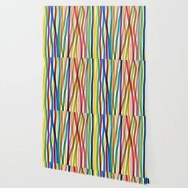 Colored Stripes Wallpaper