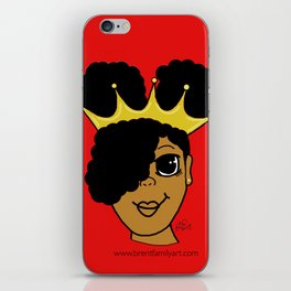 Royalty (red) iPhone Skin