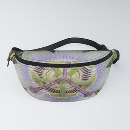 Passion Flower Blossom Fanny Pack