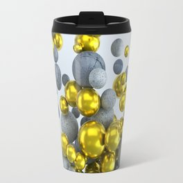 Gold & Concrete Travel Mug