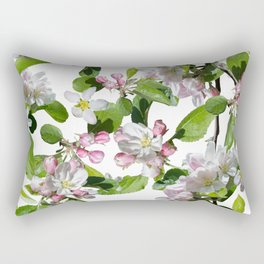 Blossom in delicate shades of pink Rectangular Pillow